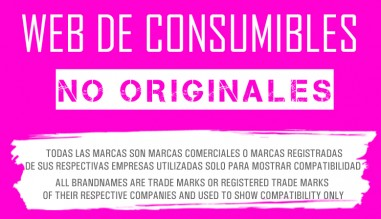 web de consumibles no originales